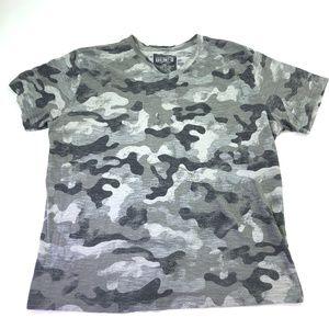 Dikotomy Co Women Top Camou T-Shirt Size 2XL Q289